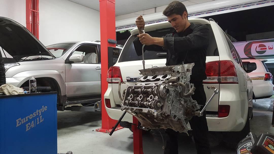 تعمیرات تخصصی موتور و گیربکس تویوتا و لکسوس