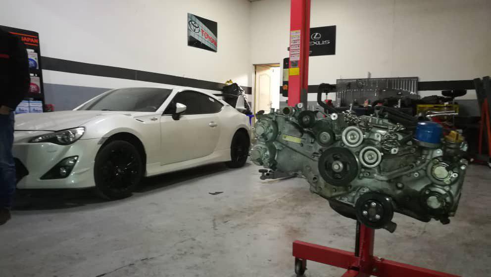 تعمیر موتور GT86